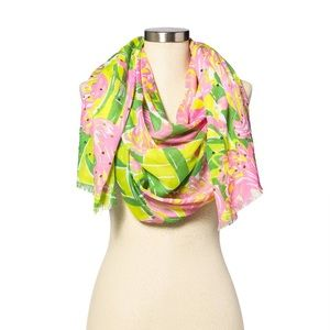 New Lilly Pulitzer for Target Fan Dance Scarf